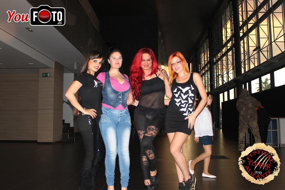 Reportaje Youfoto en el Festival de Terror de Alicante